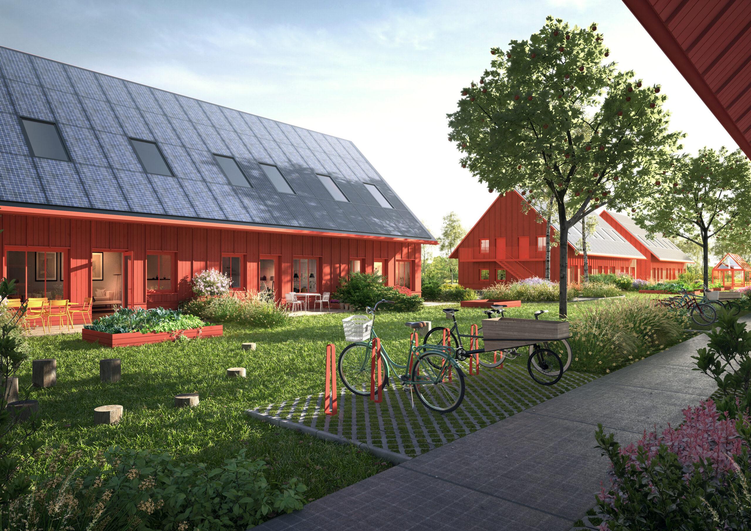 ETC bygger ett helt ekokvarter i Kumla