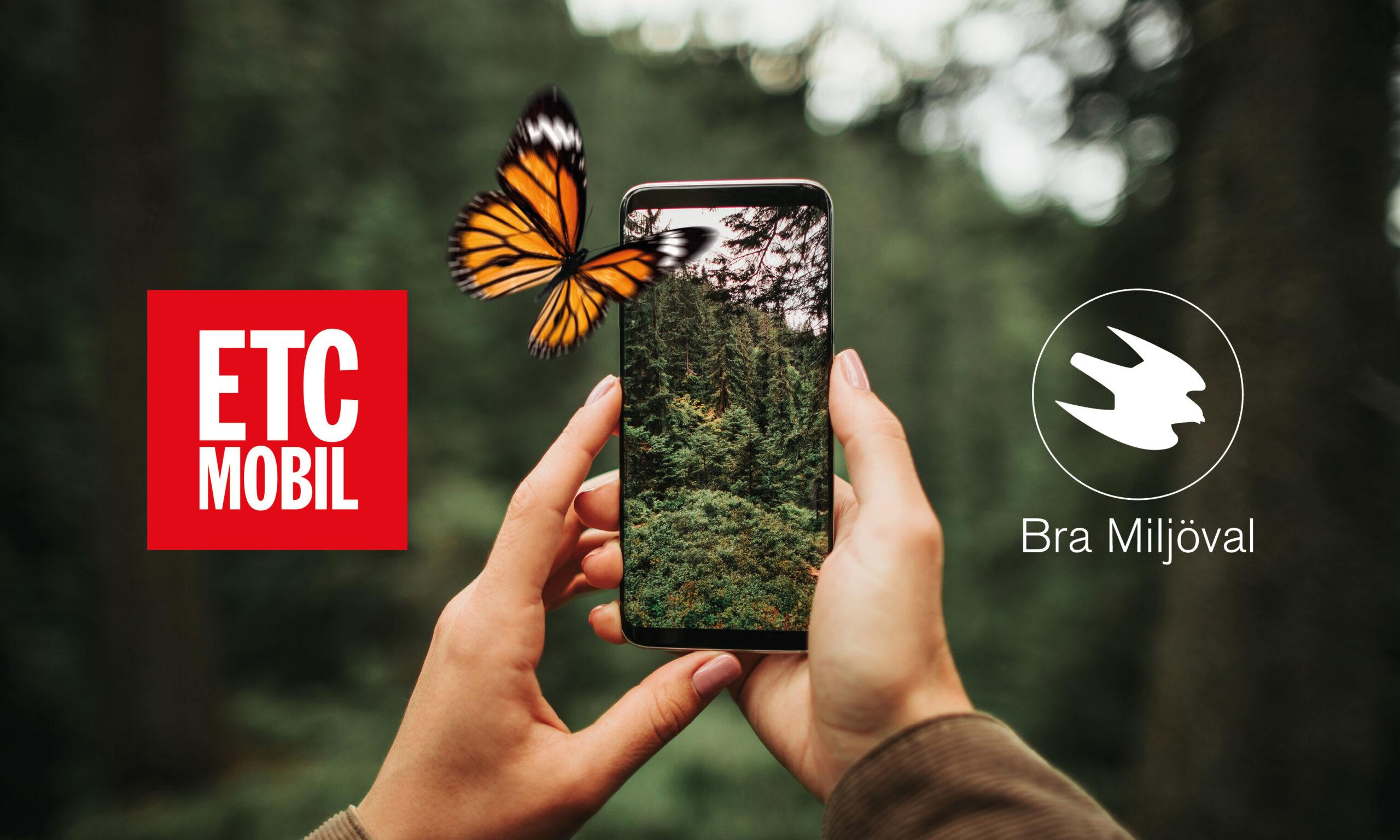 ETC Mobil blir först med miljömärkt abonnemang