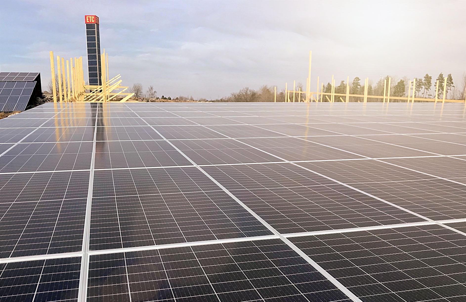 Fler solceller varje månad