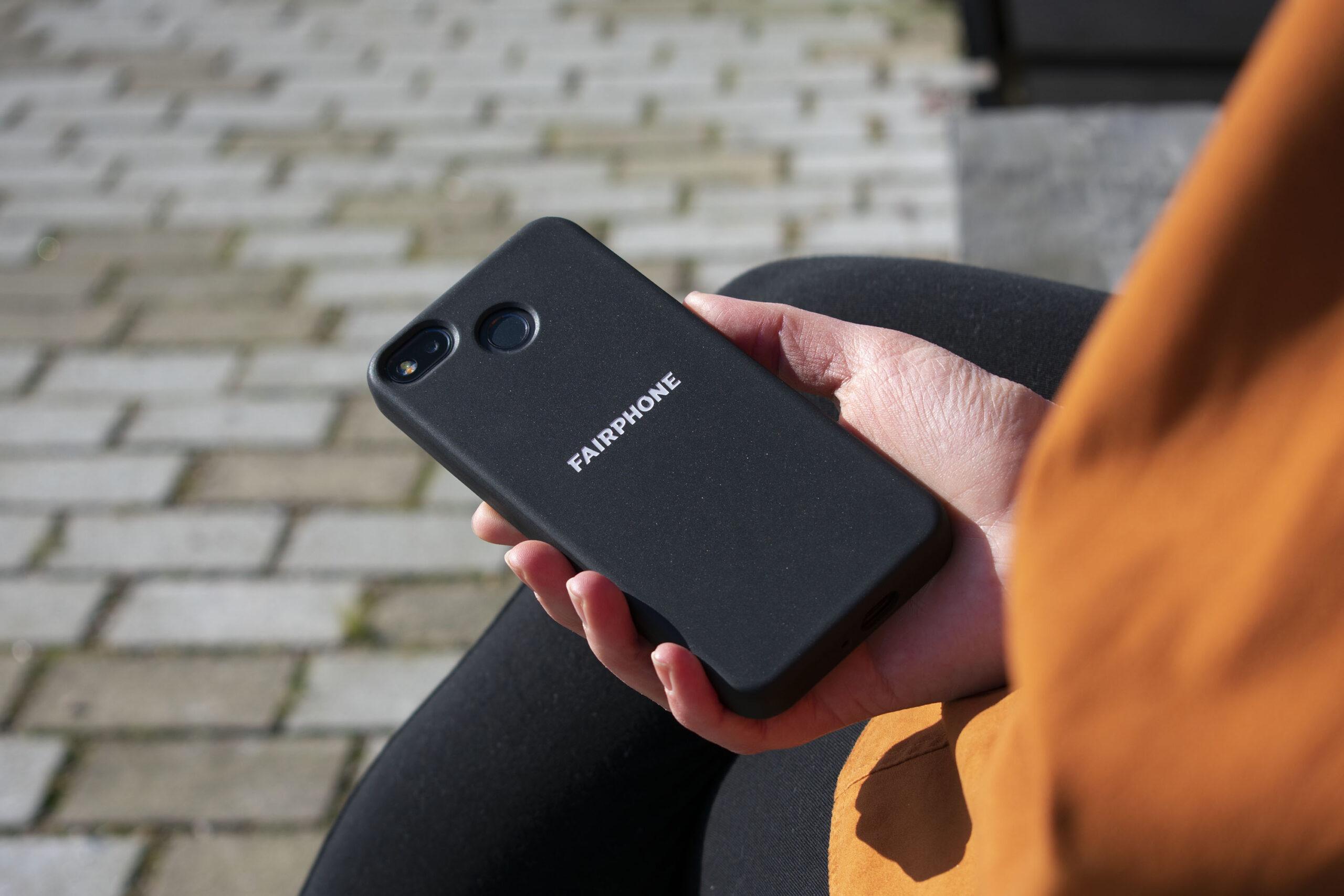 Få snyggt mobilskal när du köper en Fairphone 3