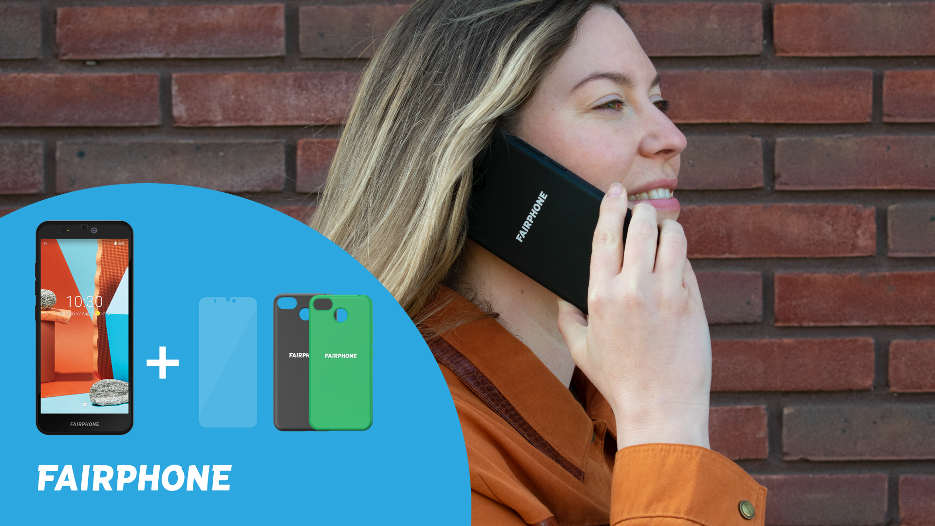 Få skal och skärmskydd på köpet när du beställer Fairphone