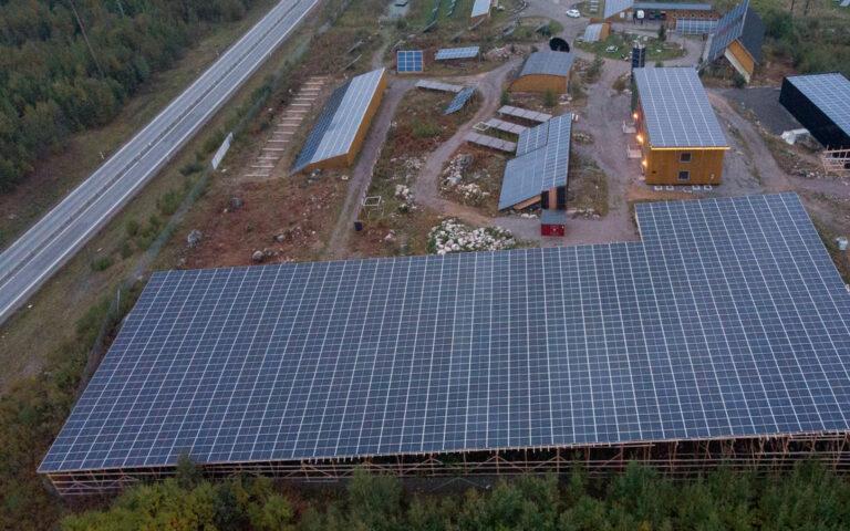 Seko sjöfolks stora solcellansläggning är invigd